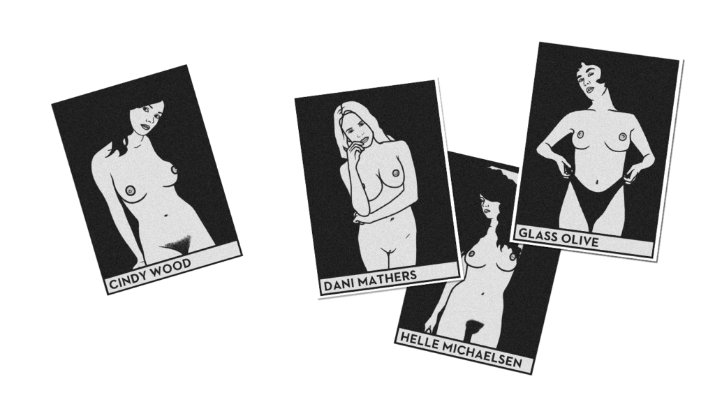 Playmates erotic cards - Antoine Le Guen - Illustration 2